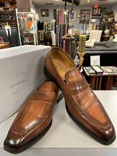Jose Real Slavto Tuscania Leather Penny Loafers