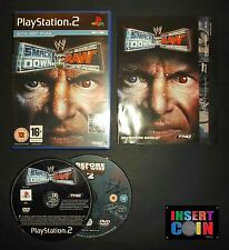 JUEGO  SMACKDOWN VS RAW    PLAYSTATION 2   PS1 PS2 PS3