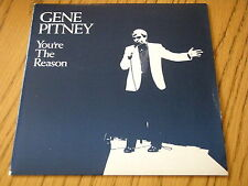 """GENE PITNEY - YOU'RE THE REASON    7"""" VINYL PS"""