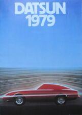 Datsun Programm 1979 Cherry Sunny Bluebird Violet Laurel 280ZX Skyline Nissan