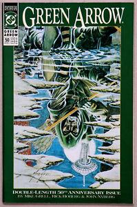 Green Arrow #50 Vol 2 - DC Comics - Mike Grell - Rick Hoberg - John Nyberg