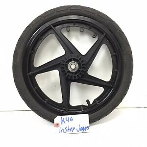 "16"" Instep JOGGER STROLLER  Black Mag Rear Wheel Tire 16"" x 1.75 (left)  #k46"