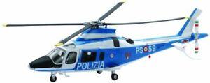 New-Ray S.R.L Aereo 1:43 Newr Polizia Agustawest 25173, Multicolore, (a0y)