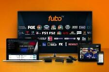 FuboTV Premium WorldWide TV Live 1 Year Subscription 100 Plus  Channels