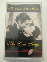 Music Of The Movies - The Love Songs - Album Cassette Tape, Used Very Good