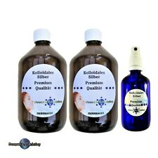 Kolloidales Silber Premium, Sparpack 1100ml,25ppm, Silberwasser