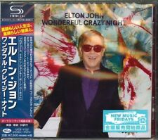 ELTON JOHN-WONDERFUL CRAZY NIGHT-JAPAN CD F83