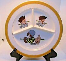 Musterschutz Czechoslovakia Divided Separated Children's Plate Vintage