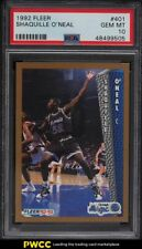 1992 Fleer Basketball Shaquille O'Neal ROOKIE RC #401 PSA 10 GEM MINT