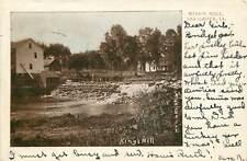 Iowa, IA, Ida Grove, King's Mill 1906 UDB Postcard