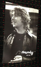 MUNDY Jelly Legs 11x17 orignal record store promo poster 2 sided FOLK Epic