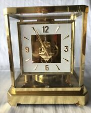 LeCoultre Atmos Clock Swiss Square Face Nice!