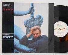 "Sting           Russians      12""   Maxi    NM  # A"