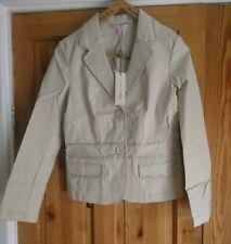 John Rocha Sequined Canvas Jacket  size 10 BNWT