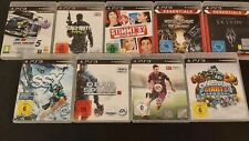 Playstation 3 Games Einzelverkauf aus Sammlung (PS3)