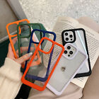 Clear Phone Case For iPhone 13 12 Pro Max 11 XS X XR 87+ Shockproof Bumper Cover