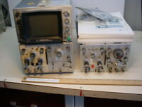 HP 181A Oscilloscope with extras