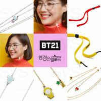 BTS BT21 Official Authentic Goods Look Optical Glasses Line series + Tracking Nu