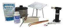 Basic Solder Starter Kit 16 Oz Pickle Pot Tweezers Micro Flame Torch Metal Weld