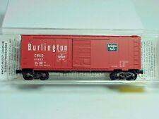 ~ MTL- 22100 ~ CHICAGO, BURLINGTON & QUINCY ~ 40' PLUG & SLIDING DOOR BOXCAR ~