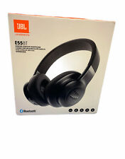 JBL E55BTBLK Wireless Over-Ear Headphones - Black NEW SEALED