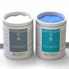 STENSIL ECO 90 Blau 3kg SET Dubliersilikon Abformsilikon knetbar 1:1