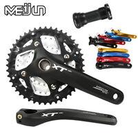 MEIJUN 9/27 Speed MTB Bike Chainring 104BCD Crankset 22/32/44T Fit Shimano SRAM