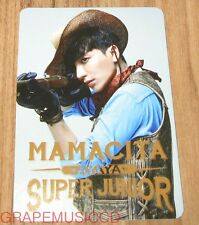 SUPER JUNIOR SJ MAMACITA AYAYA SM LOTTE POP UP LEETEUK PHOTOCARD PHOTO CARD NEW