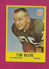 1967 PHILADELPHIA  # 93 RAMS TOM MOORE  NRMT CARD (INV# A6352)