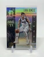 Luka Doncic Dallas Mavericks Illusions Refractor 2019-20 NBA Basketball Card