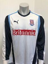 Stoke City away Football Shirt 2006/2007 L/S Medium