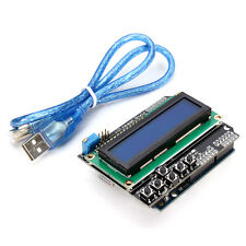 "Geekcreitâ""¢ Arduino-Compatible UNO R3 + LCD 1602 Keypad Shield Kit For Arduino"