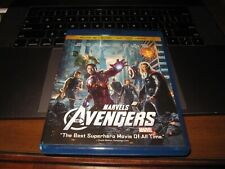 The Avengers 3D Blu-ray/DVD, 2012, 4-Disc Set VG BIN