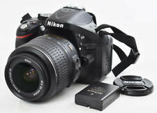 Nikon D D5200 24.1MP Digital SLR Camera Black w. AF-S DX G VR 18-55mm Lens