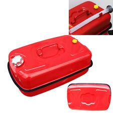 Red Portable 20L Gasoline Can 5 Gallon Oil Fuel Gas Caddy Tank Backup Gasoline