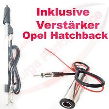 Opel Hatchback  Edelstahl Autoantenne für Kotflügel inkl. Verstärker NEU TOP