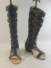 Zip Wedge Gladiator Sandals for Women