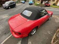 90-98 MK1 Mazda MX5 MX-5 Convertible Mohair Soft Top Hood Roof *Fitted*