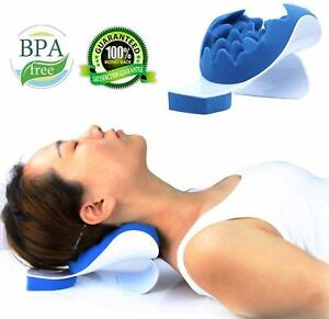 Chiropractic Pillow Neck and Shoulder Pain Relief Support Relaxer Help Easy NEW