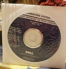 Dell Operating System Reinstallation Cd Windows 2000 W2K + Sp4 - Brand New