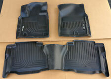 SALE HUSKY WEATHERBEATER Front & 2nd Row Floor Liners For 07-12 Tundra Crew Cab