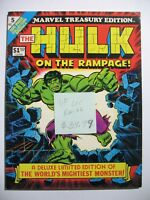 Vintage Marvel Oversize Treasury Edition HULK ON THE RAMPAGE 5 LEE ROMITA VF
