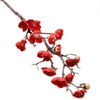 Artificial Fake Plum blossom Flower Outdoor UV Resistant Greenery Shrubs Plant