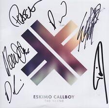 ESKIMO CALLBOY CD Album NEU DAVID FRIEDRICH Booklet signiert IN PERSON Autogramm