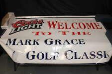 Mark Grace Signed Coors Light Mark Grace Golf Classic Poster Z3177
