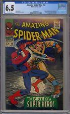 AMAZING SPIDER-MAN #42 CGC 6.5 1ST MARY JANE WATSON CAMEO
