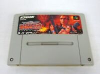 Nintendo Super Famicom Contra Spirits KONAMI game tested and working SFC SNES