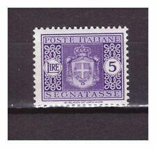 s27244) ITALIA 1934 MNH** Segnatasse L.5 Sassone #44