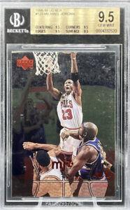Michael Jordan 1998-99 Upper Deck MJX #123 BGS Graded 9.5 PSA 10? All Subs 9.5
