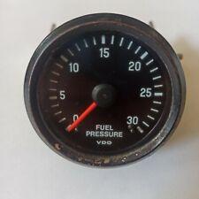 Vdo Fuel Pressure Gauge 21 In Diameter